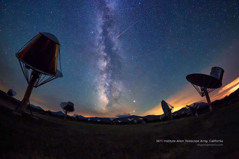 allen telescope array skyglow desktop wallpapers In Search of Americas Darkest Skies (24 Photos)