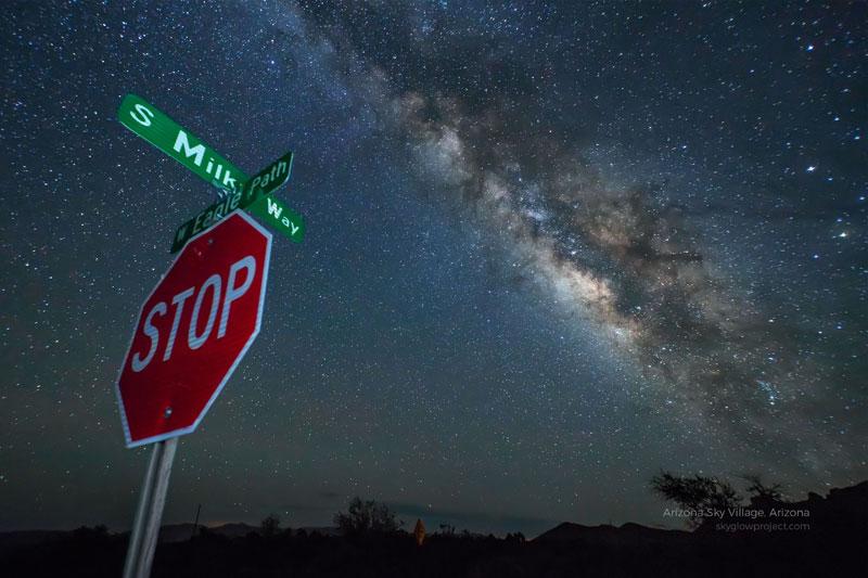 arizona sky village skyglow desktop wallpapers In Search of Americas Darkest Skies (24 Photos)