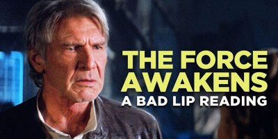 A Bad Lip Reading of The Force Awakens with Mark Hamill as Han Solo