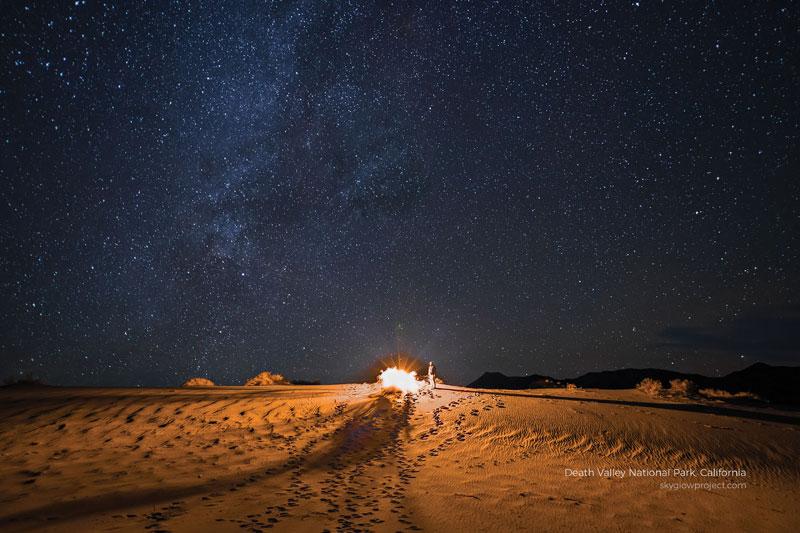 death valley 8 skyglow desktop wallpapers In Search of Americas Darkest Skies (24 Photos)