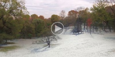 Guy Makes Awesome Timelapse by Flying a Drone on the Same Flight Path for 8 StraightSeasons
