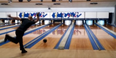 Two Handed Bowler Sets World Record with 12 Strikes in 86.9Seconds