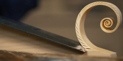 There's Something Strangely Satisfying About These Fibonacci Spiral Shavings