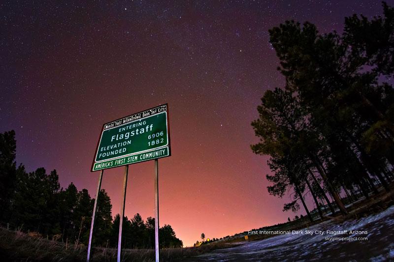 flagstaff 4 skyglow desktop wallpapers In Search of Americas Darkest Skies (24 Photos)