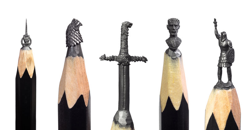 Amazing Artist Carves Game of Thrones Themed Sculptures