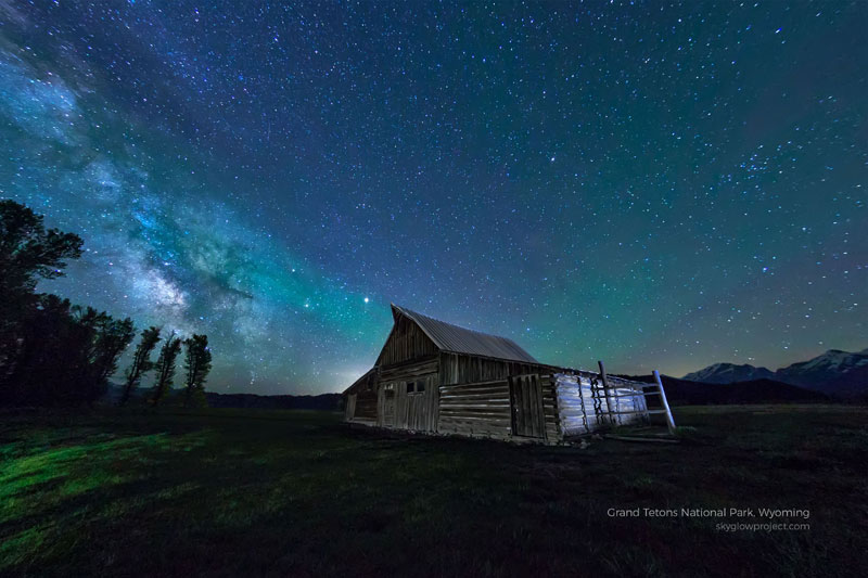 grand tetons 1 skyglow desktop wallpapers In Search of Americas Darkest Skies (24 Photos)