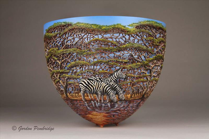 hand carved wooden bowls by gordon pembridge 10 This Artist Hand Carves Wooden Bowls Inspired by His Kenyan Roots