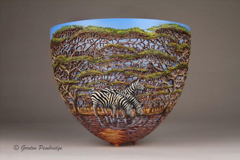 hand carved wooden bowls by gordon pembridge 10 This Artist Hand Carves Wooden Bowls Inspired by His Kenyan Roots