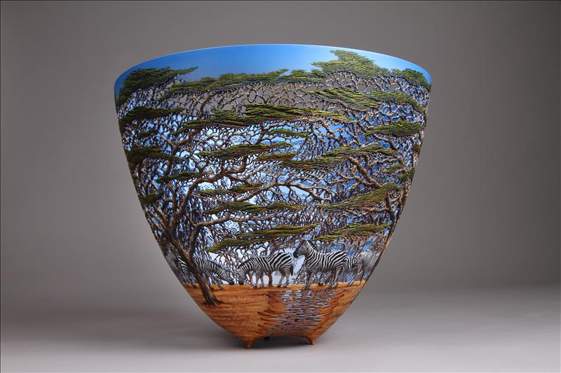 hand carved wooden bowls by gordon pembridge 13 This Artist Hand Carves Wooden Bowls Inspired by His Kenyan Roots