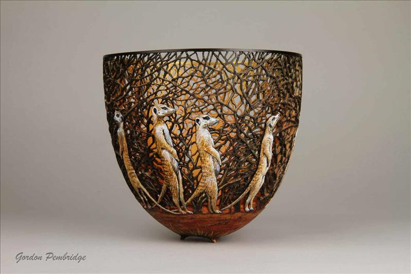 hand carved wooden bowls by gordon pembridge 8 This Artist Hand Carves Wooden Bowls Inspired by His Kenyan Roots
