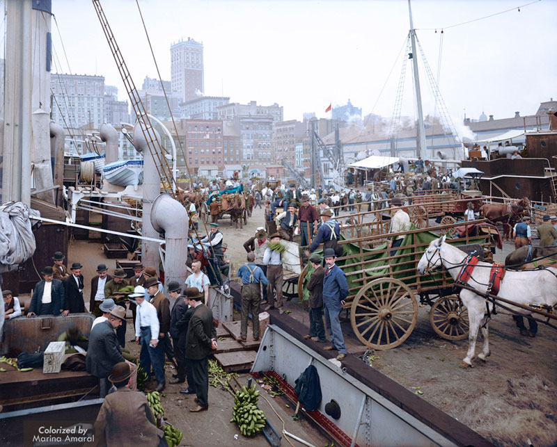 historic black and white photos colorized by marina amaral 2 21 Year Old Artist Brings History to Life Through Color (18 photos)
