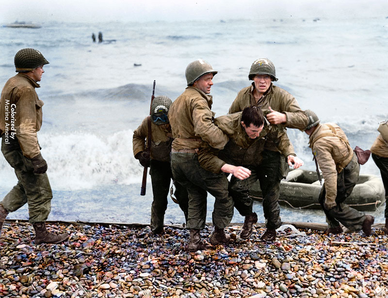 historic black and white photos colorized by marina amaral 3 21 Year Old Artist Brings History to Life Through Color (18 photos)