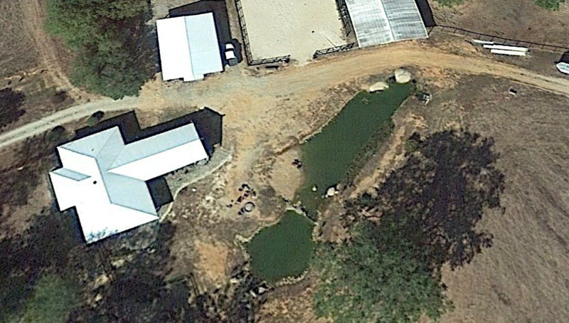 instead of an in ground swimming pool this guy built his own natural swim pond 6 Forget an In Ground Swimming Pool, this Guy Built His Own Natural Swim Pond!