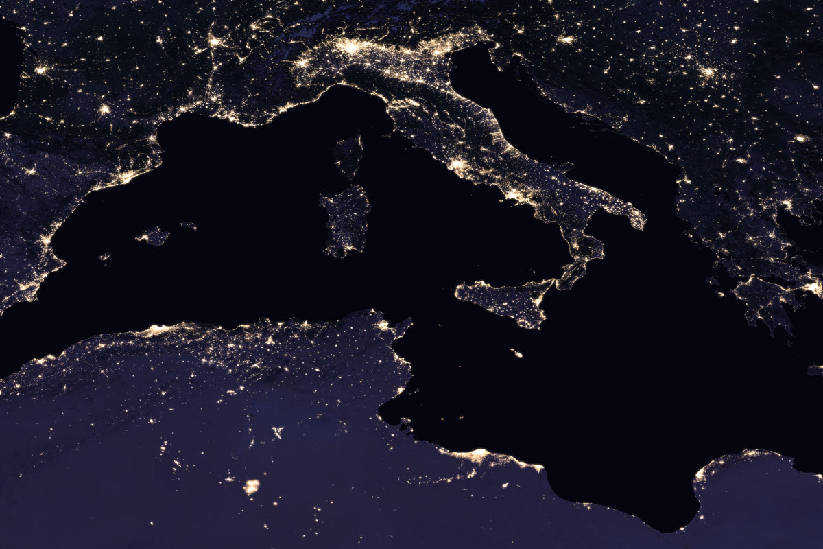 italy vir 2016 lrg NASA Releases Amazing New Photos of the World at Night