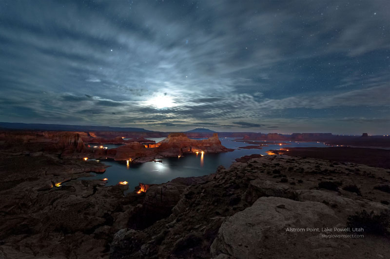 lake powell 1 skyglow desktop wallpapers In Search of Americas Darkest Skies (24 Photos)