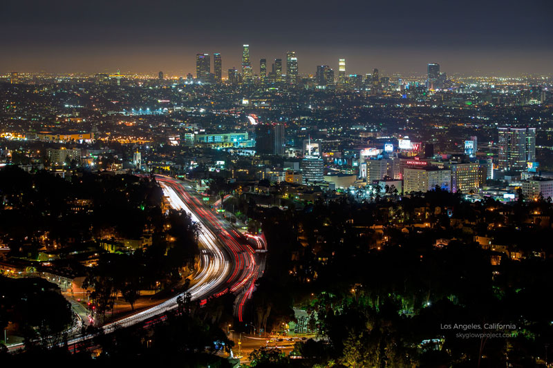 los angeles 1 skyglow desktop wallpapers In Search of Americas Darkest Skies (24 Photos)