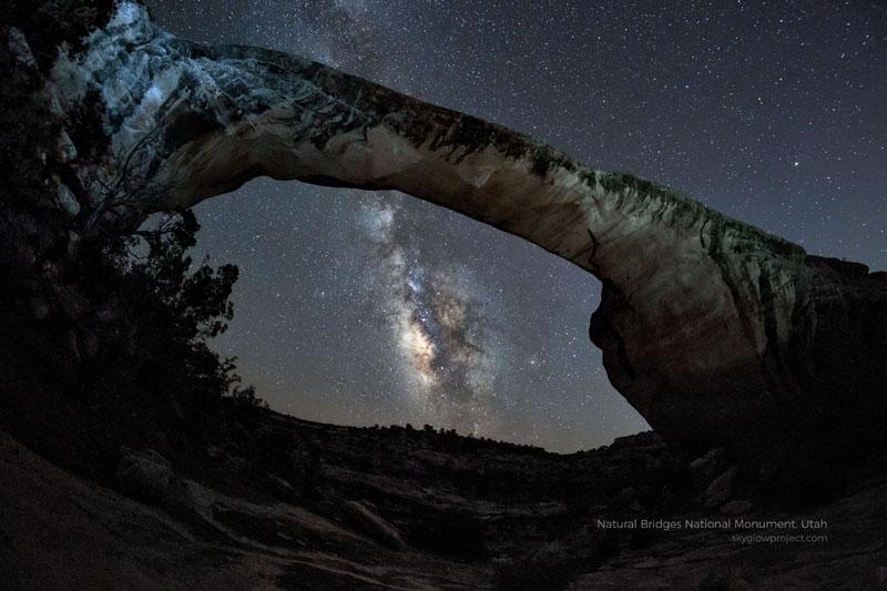 natural bridges 1 skyglow desktop wallpapers In Search of Americas Darkest Skies (24 Photos)