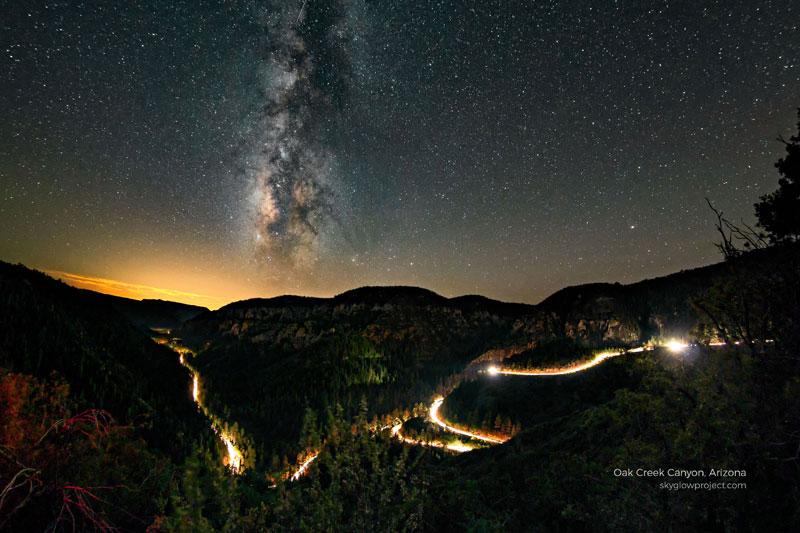 oak creek 1 skyglow desktop wallpapers In Search of Americas Darkest Skies (24 Photos)