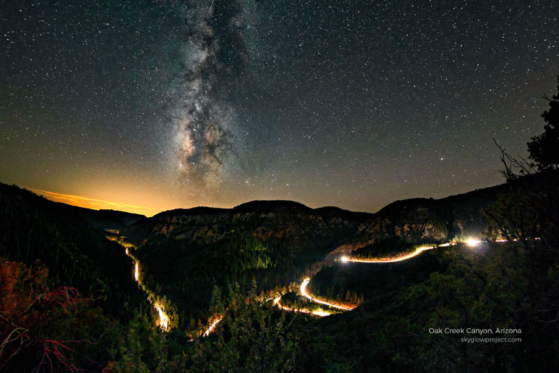 oak creek 1 skyglow desktop wallpapers In Search of Americas Darkest Skies (24 Photos)