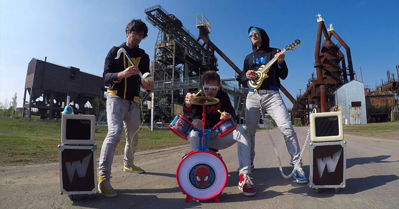 Rage Against the Machine on Toy Instruments StillBangs