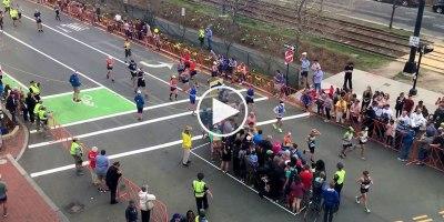 The Simple Technique at the Boston Marathon that Lets Pedestrians Cross theStreet