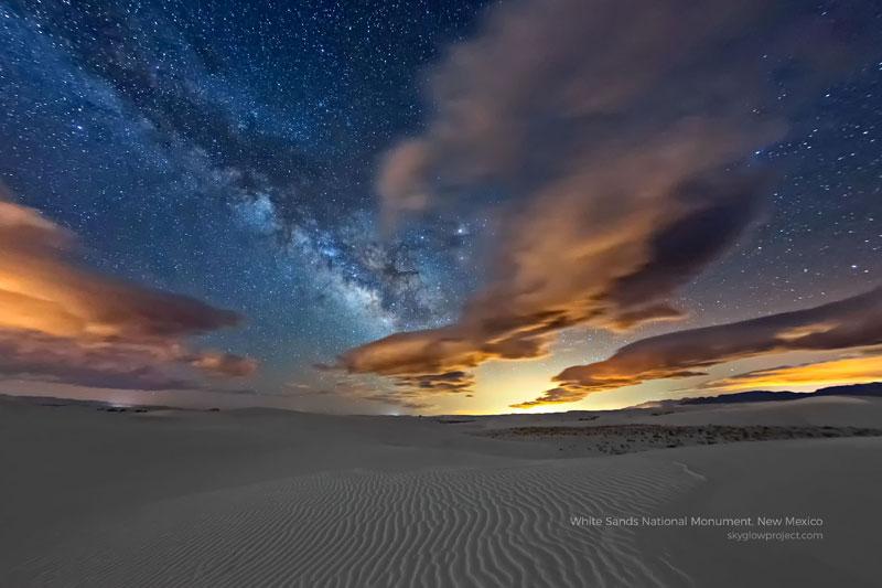 white sands 1 skyglow desktop wallpapers In Search of Americas Darkest Skies (24 Photos)