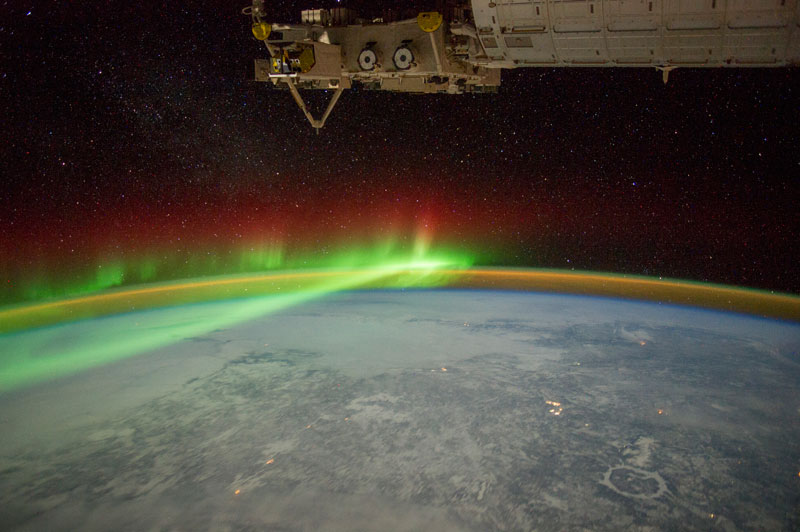 33 best auroras nasa has ever featured 31 The 33 Best Aurora Photos NASA Has Ever Featured