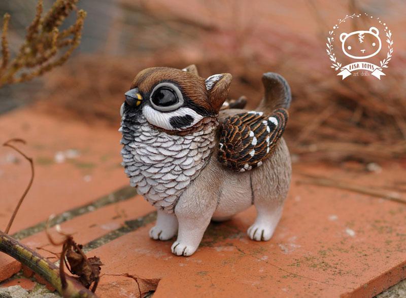 artist sculptor lisa toms dreams up creatures that dont live on our world 3 Sculptor Lisa Toms Dreams Up Creatures that Dont Live in Our World
