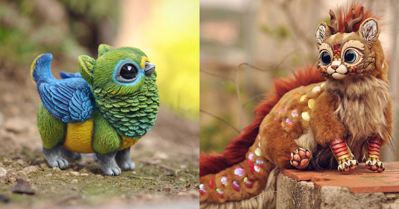 Sculptor Lisa Toms Dreams Up Creatures that Don't Live in OurWorld