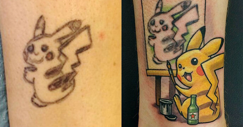 Best Tattoo Cover Up Ever