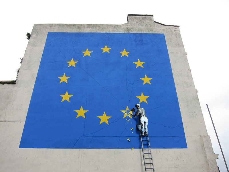 Picture of the Day: Banksy Brexit