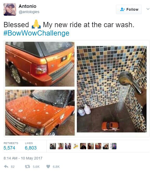 The Internet Is Roasting Bow Wow For Pretending To Fly On A Private