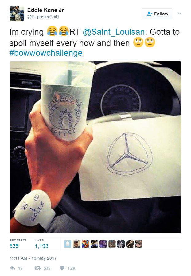 best bow wow challenge meme 2 The Internet is Roasting Bow Wow for Pretending to Fly on a Private Jet to New York and Its Amazing