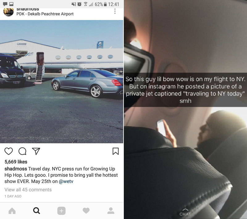 bow wow challenge original The Internet is Roasting Bow Wow for Pretending to Fly on a Private Jet to New York and Its Amazing