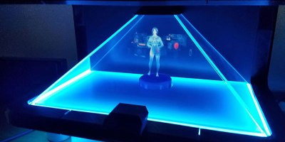 This Guy Turned Microsoft's Voice Assistant Into an Actual Hologram
