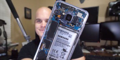 Guy Uses Paint Thinner to Make His S8 CompletelyClear