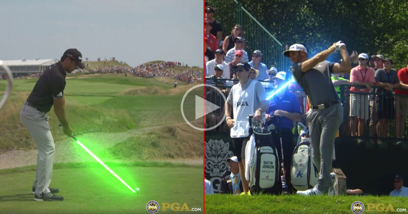 If Golfers Used Lightsabers Instead of Clubs