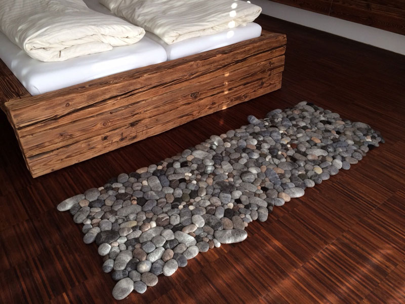 plush stone rungs by martina schuhmann flussdesign 2 These Stone Rugs are Actually Plush and Squishy