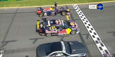 Red Bull F1 vs Supercar V8 vs MercedesSL63