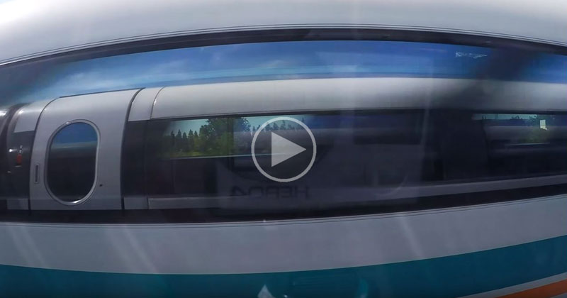 When Two Maglev Trains Pass EachOther