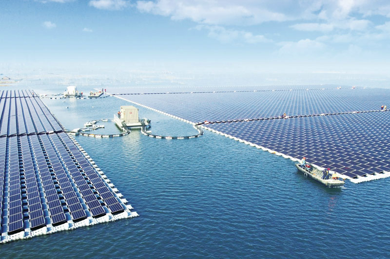 The World's Largest Floating Solar Power Plant Just Opened in a Flooded Coal MiningArea