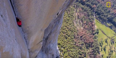 Nat Geo Releases First Exclusive Teaser Footage of Alex Honnold's HistoricClimb