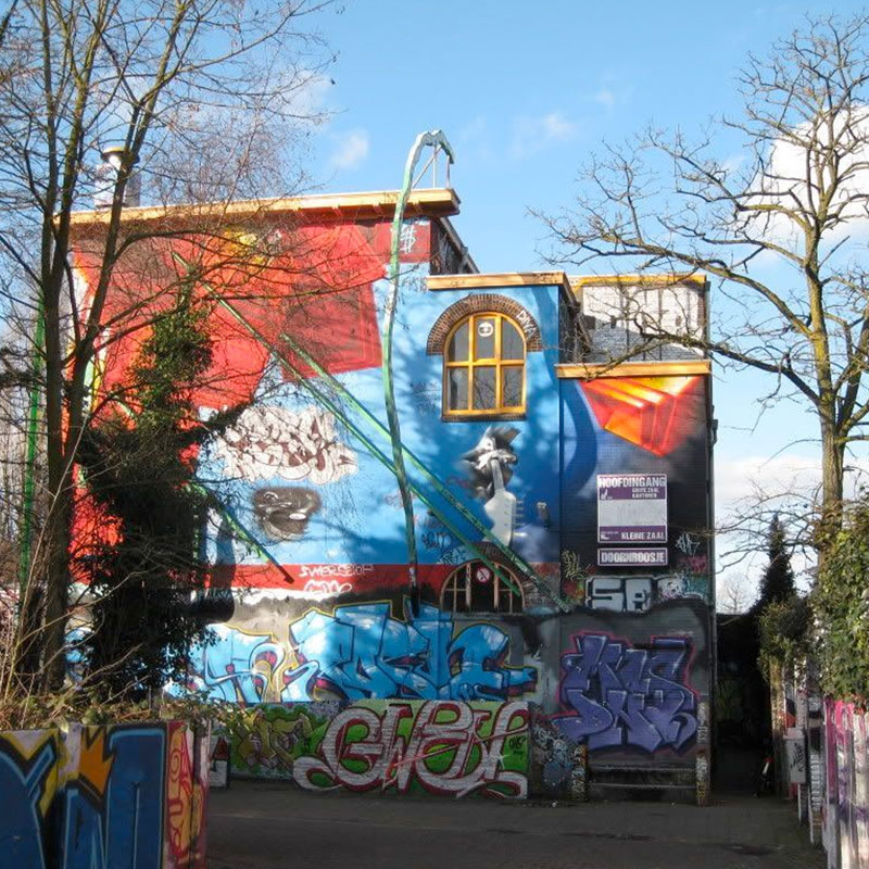 chunk from famous dutch graffiti wall reveals 30 years of art 7 Chunk from Famous Dutch Graffiti Wall Reveals 30 Years of Art