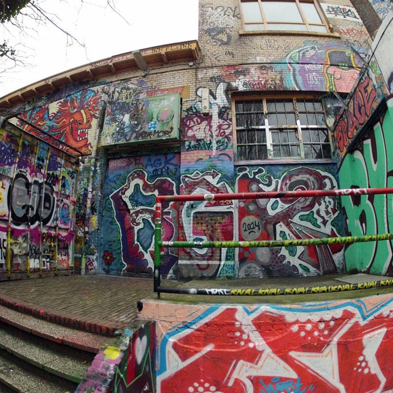 chunk from famous dutch graffiti wall reveals 30 years of art 8 Chunk from Famous Dutch Graffiti Wall Reveals 30 Years of Art