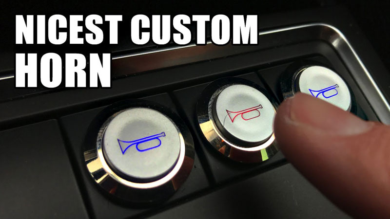 Former NASA Engineer Builds Custom Car Horn With Distinct Sounds for Every Situation