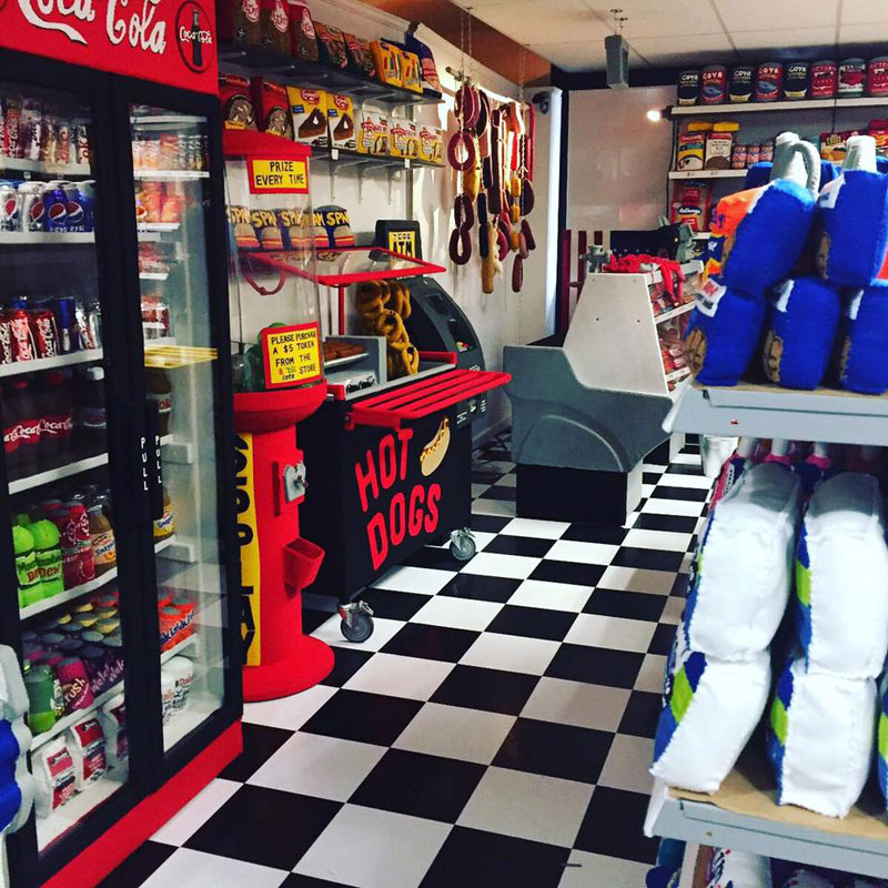 felt convenient store new york by lucy sparrow 10 Artist Opens Fauxdega in New York With 9,000 Felt Products and Its Already Sold Out