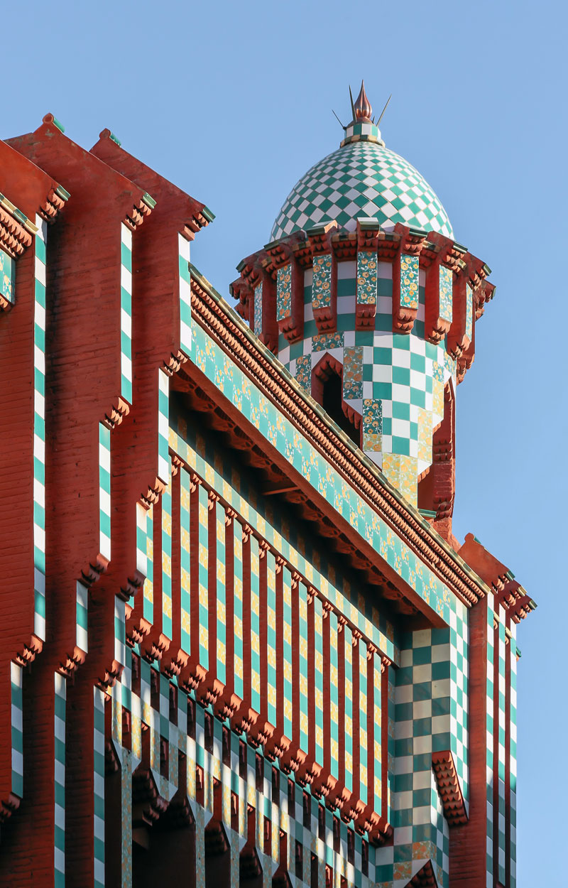 gaudi first house ever casa vicens 4 The First House Gaudi Ever Designed Just Opened to the Public After 130 Years