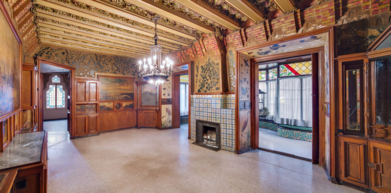 gaudi first house ever casa vicens 9 The First House Gaudi Ever Designed Just Opened to the Public After 130 Years