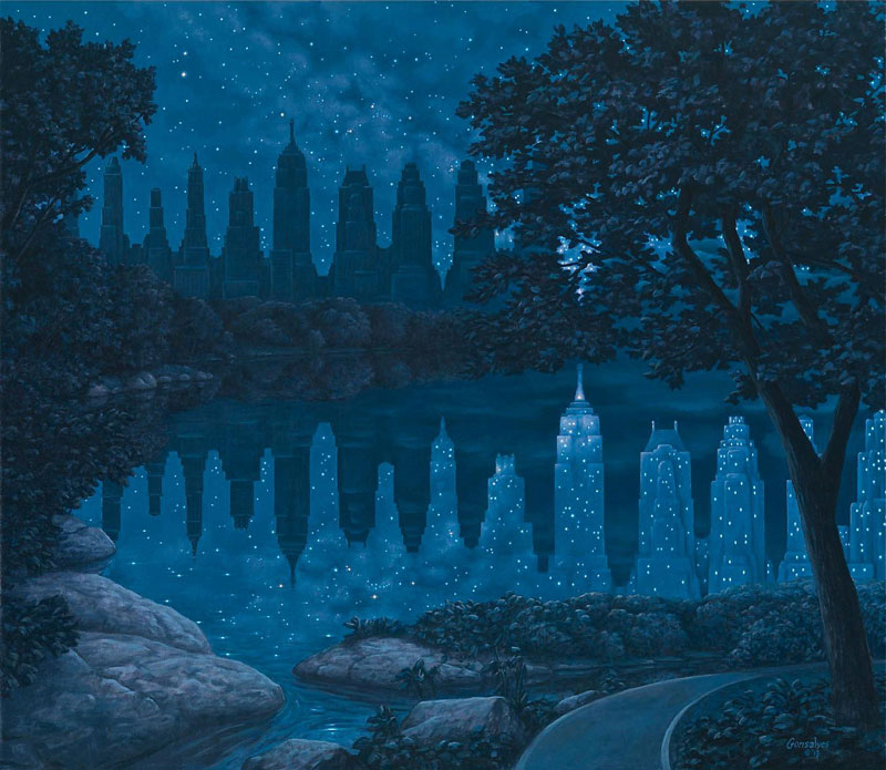surreal paintings by rob gonsalves 3 12 Mind Bending Magic Realism Paintings by Rob Gonsalves