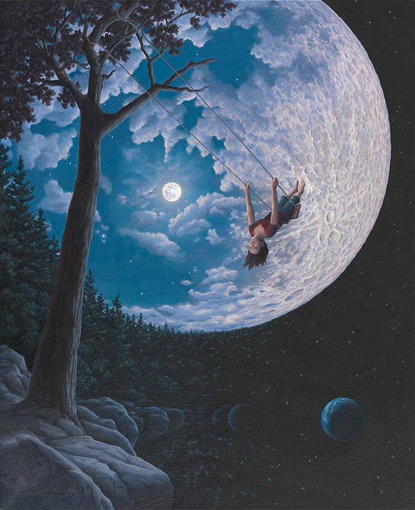 surreal paintings by rob gonsalves 4 12 Mind Bending Magic Realism Paintings by Rob Gonsalves